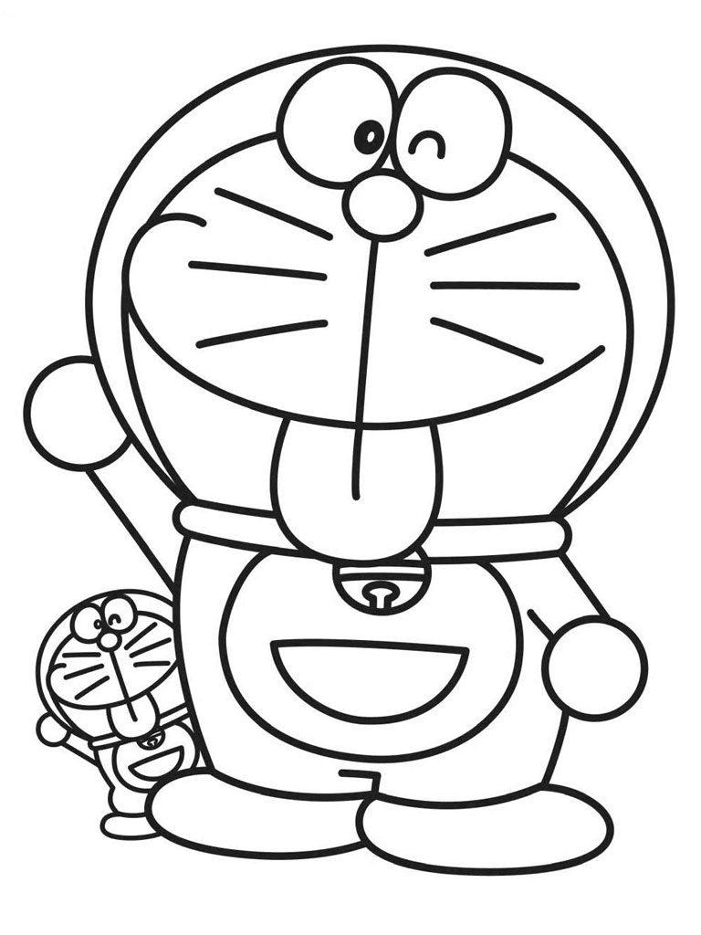 Download 86 Gambar Doraemon Sketsa Gratis Gambar Doraemon