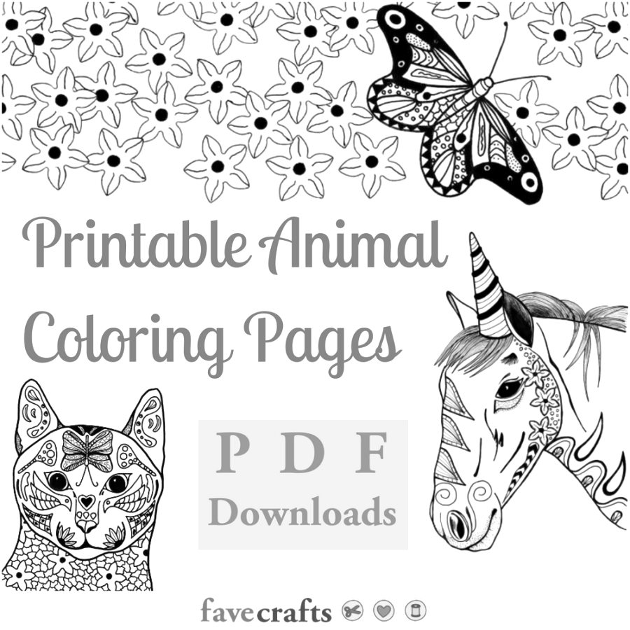 Discover Free animal coloring pages be more creative