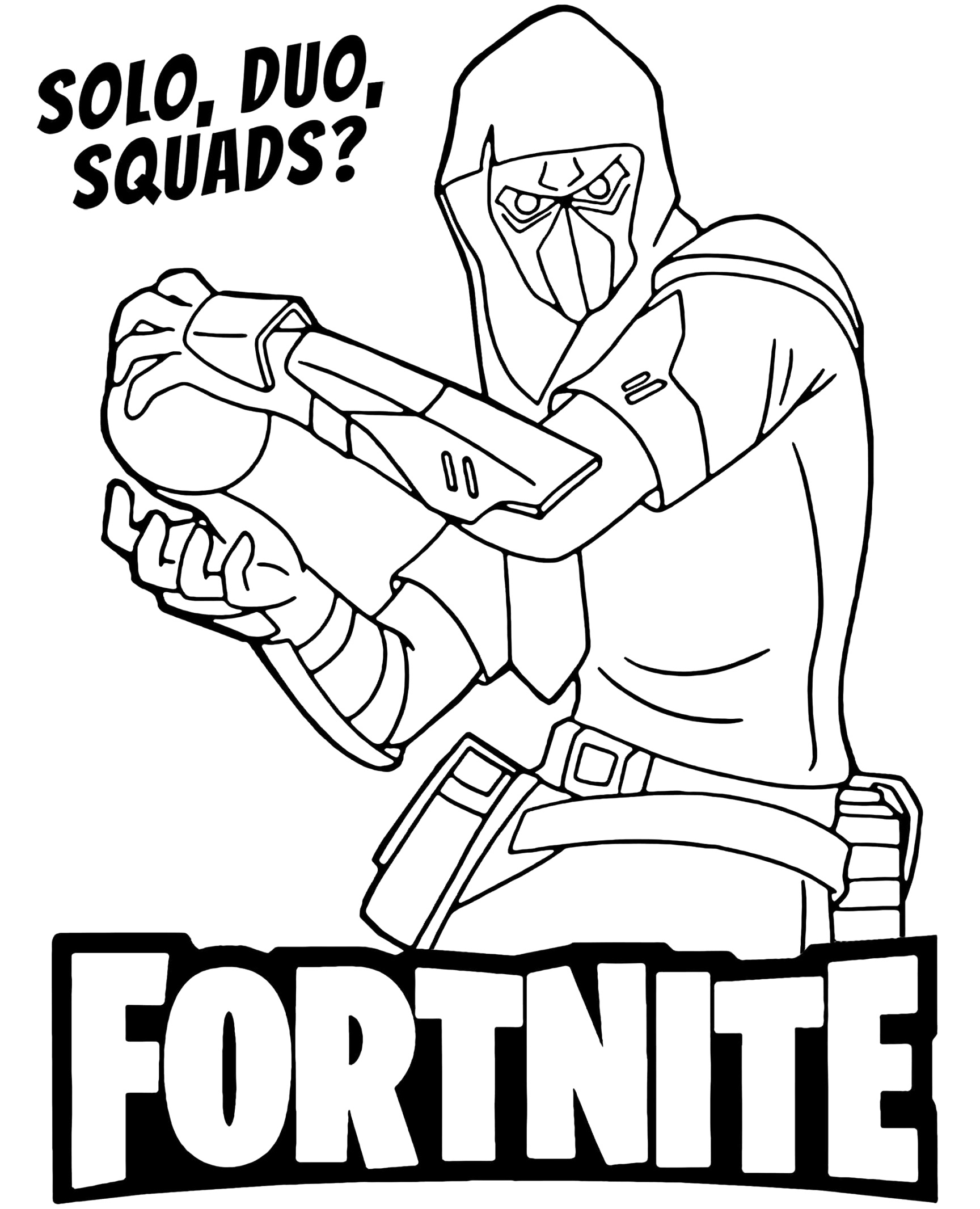 excelent fortnite coloring pages free pdf