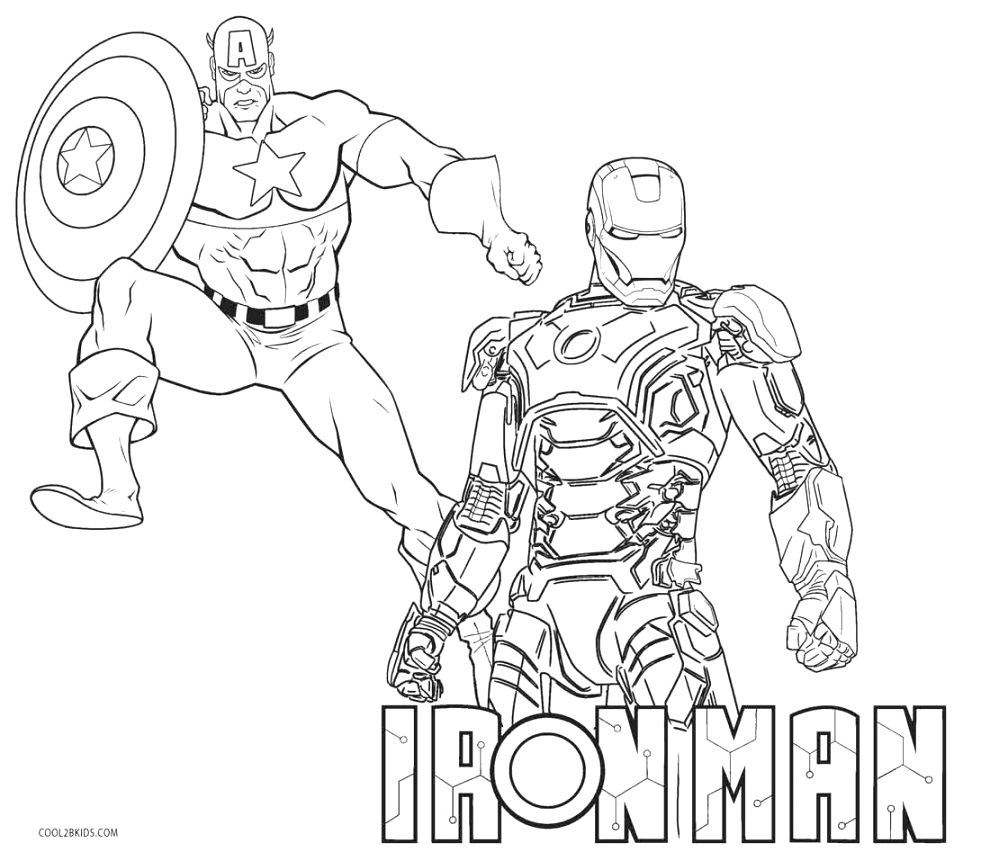 creative iron man coloring pages coloring pages printable