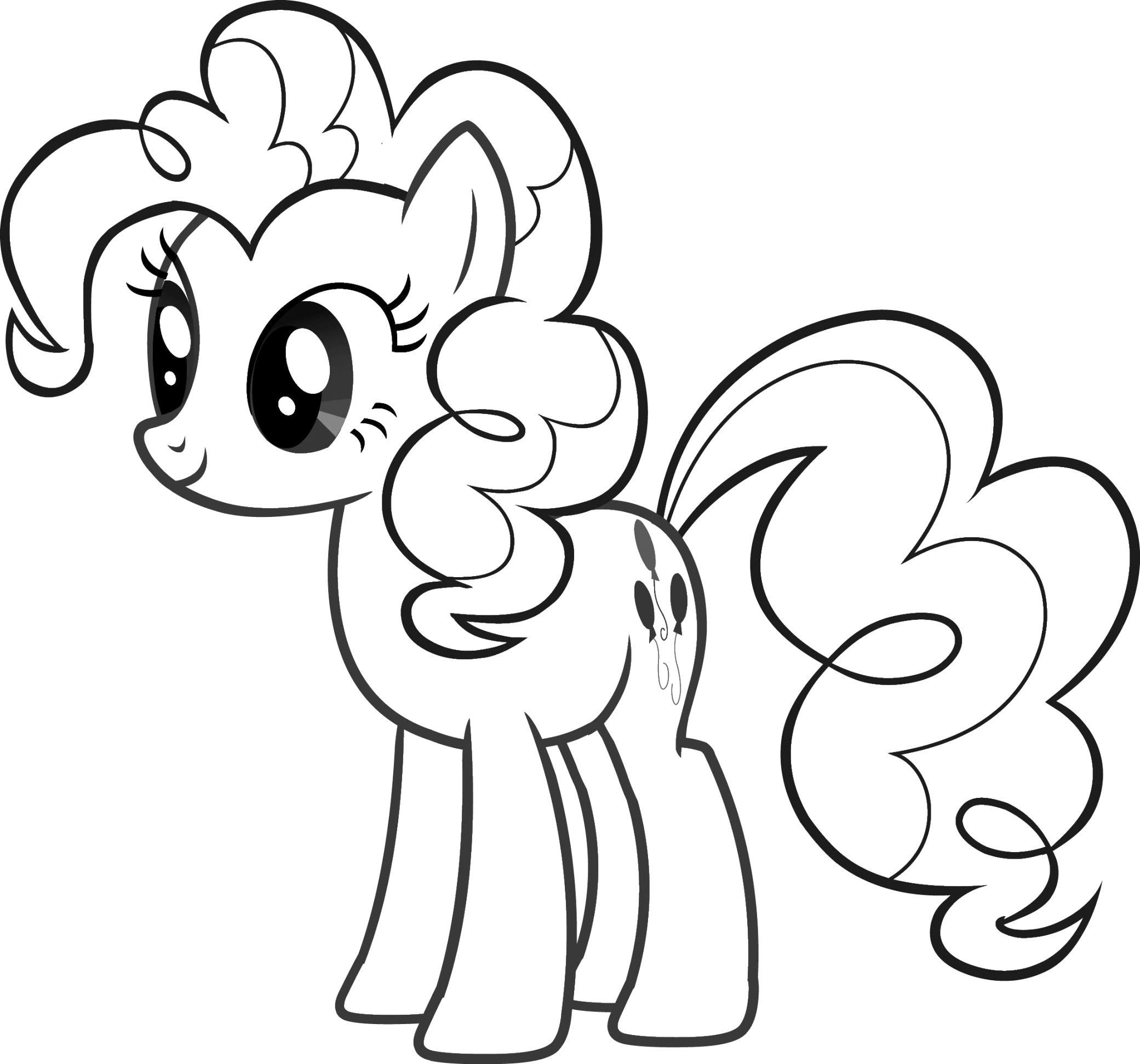the incredible my little pony coloring pages gallery