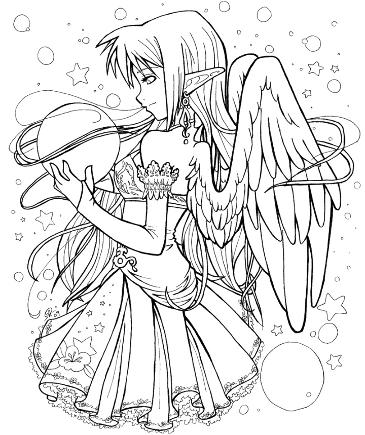 Discover Free anime coloring pages free pdf