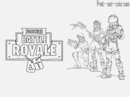 Remarkable fortnite coloring pages Inspirations