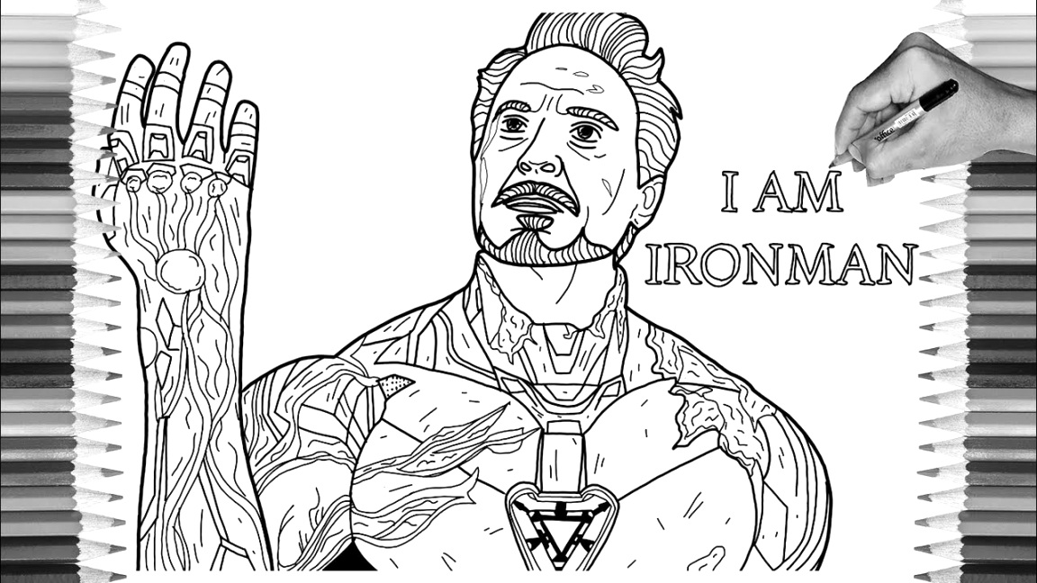 fun with iron man coloring pages coloring book