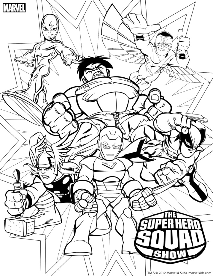 beautiful marvel coloring pages Coloring Pictures For Toddlers