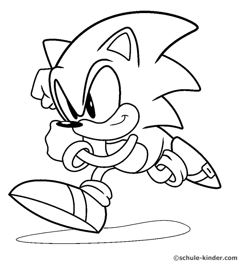 benefits of sonic the hedgehog coloring pages Coloring Pages Archives