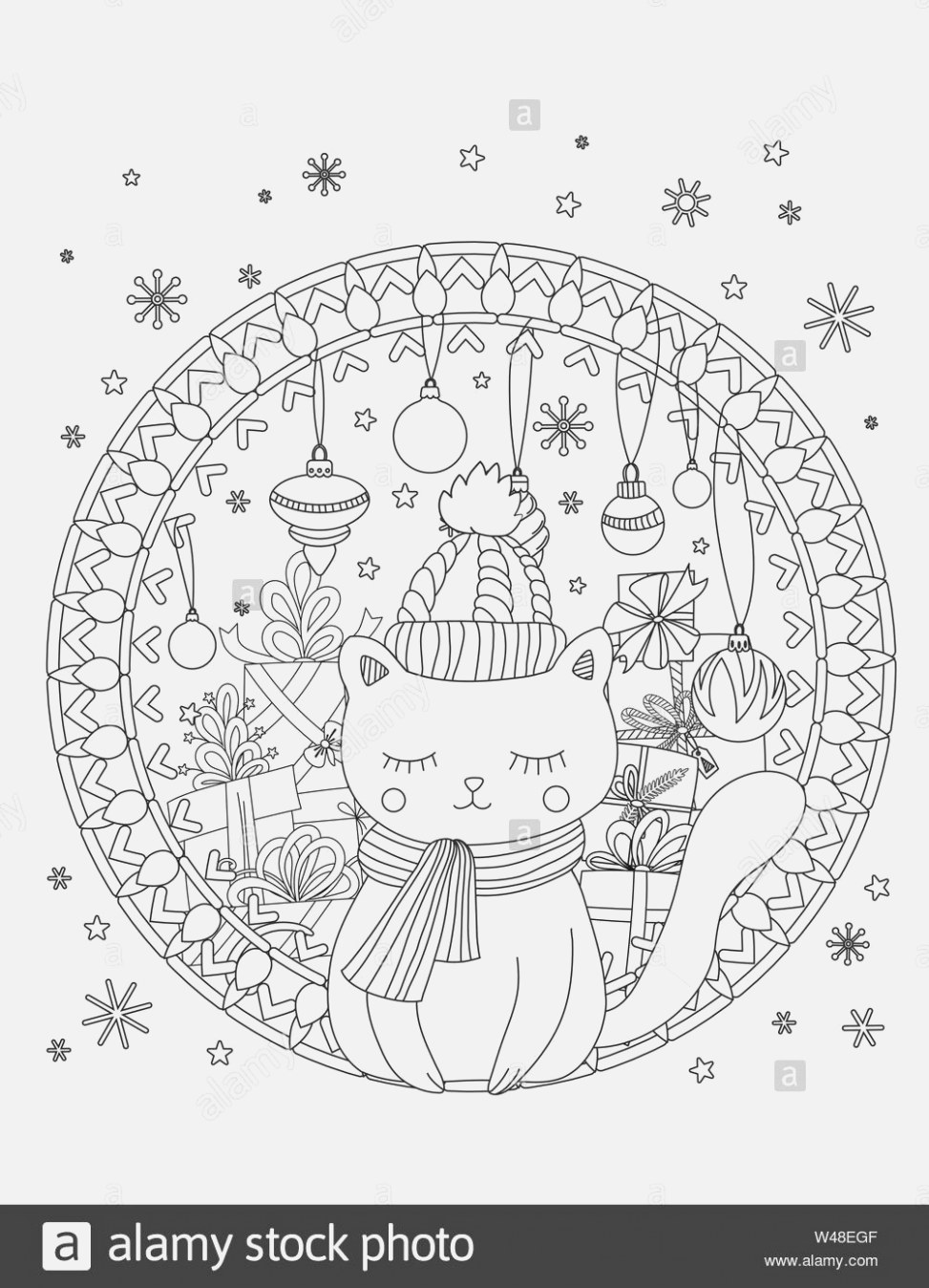 The best christmas coloring pages printable pdf