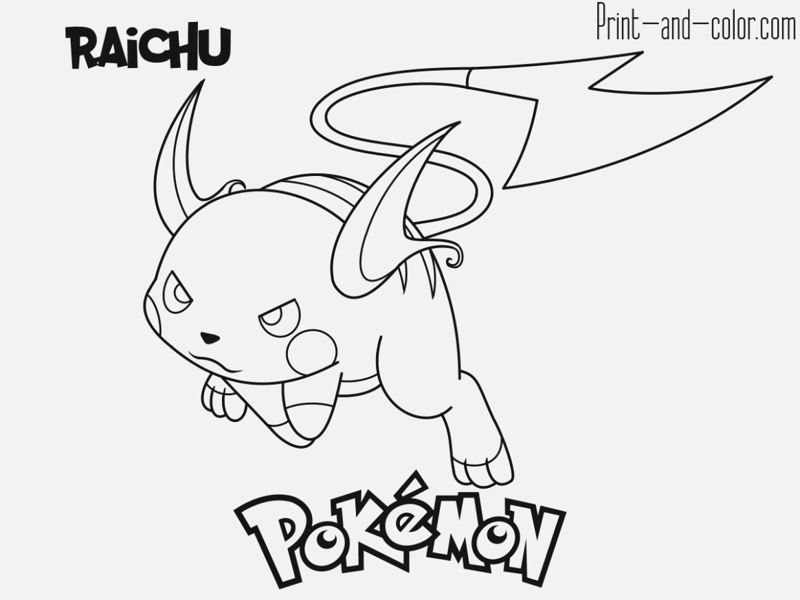 simple pokemon coloring pages collection