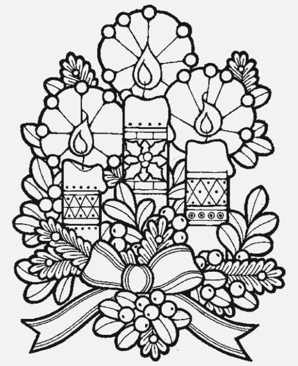 fantastic christmas coloring pages that helps maintain focus