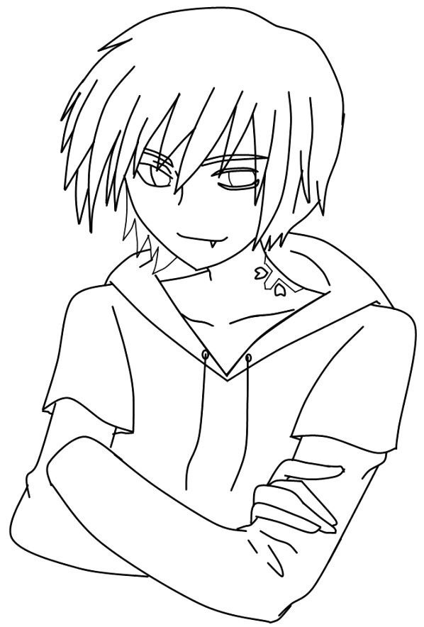 get free anime coloring pages to color your life