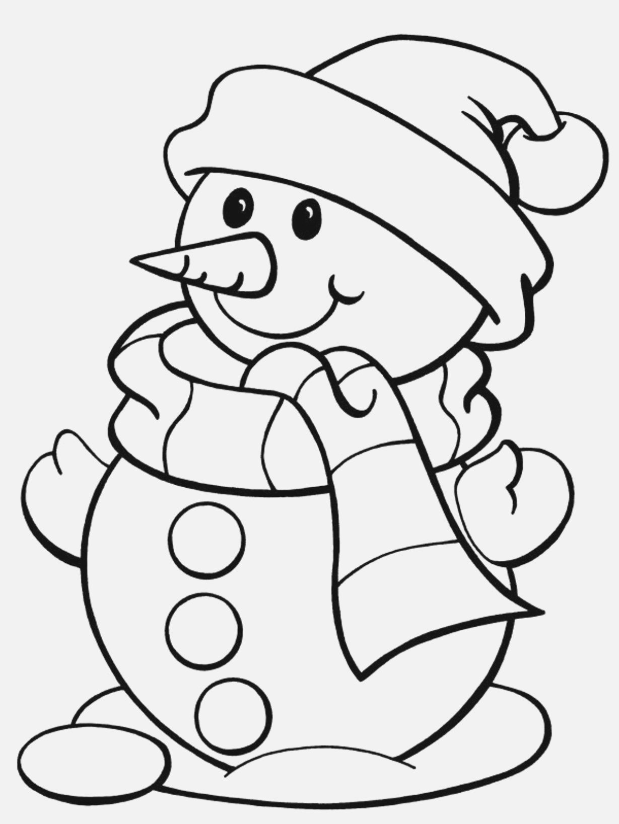 printable christmas coloring pages collection