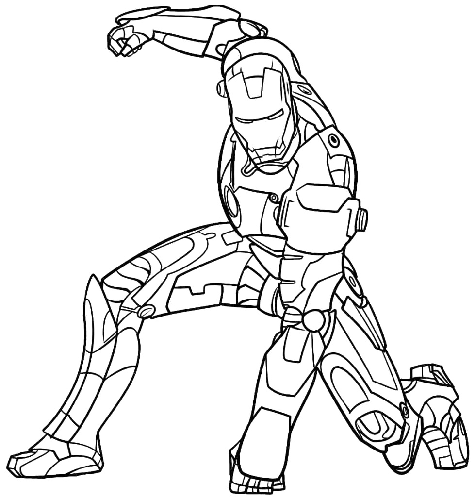 new iron man coloring pages coloring pages