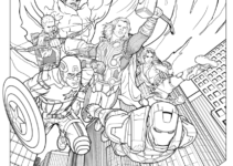 Marvel Coloring Pages Coloring Book