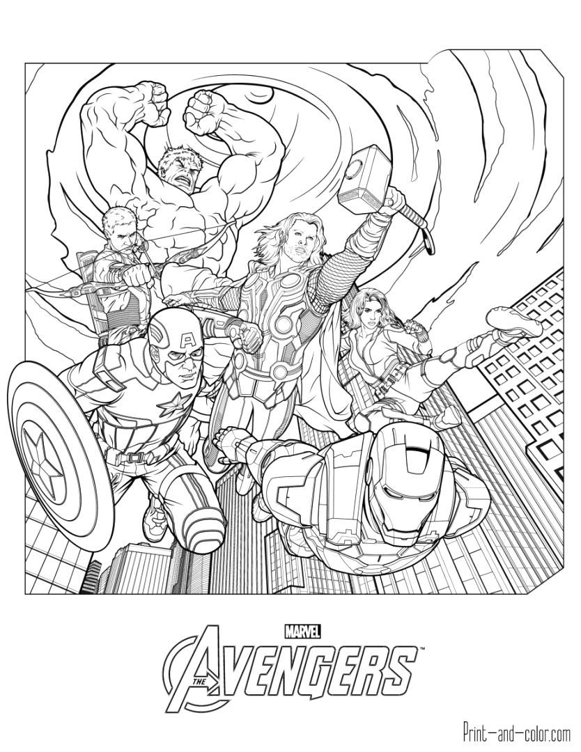 easily marvel coloring pages collection