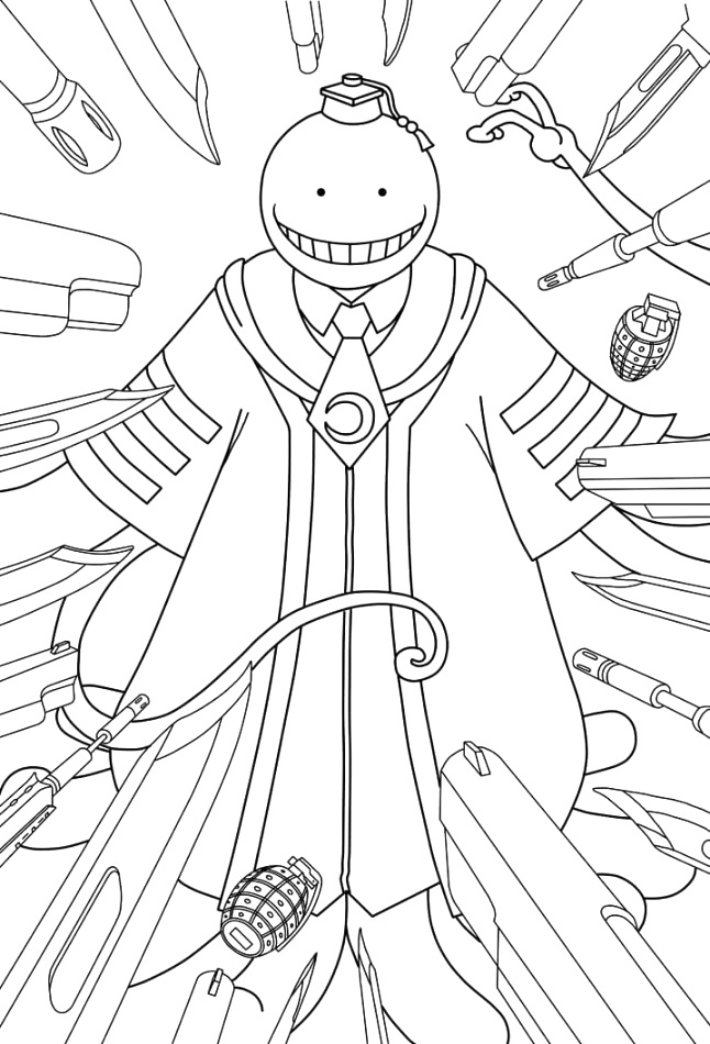 creative anime coloring pages coloring pages
