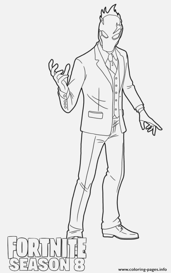 simple fortnite coloring pages ideas