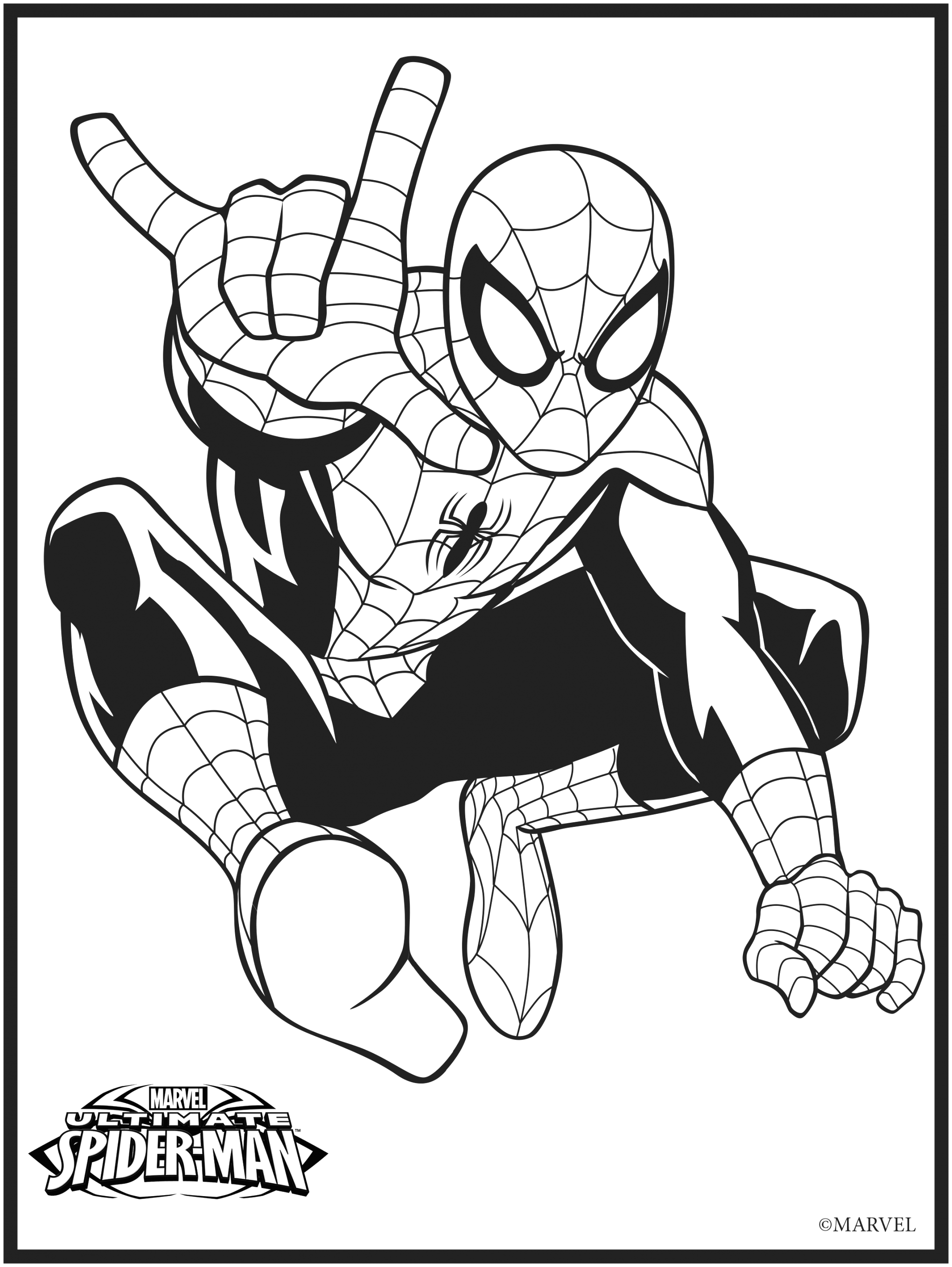 free marvel coloring pages collection