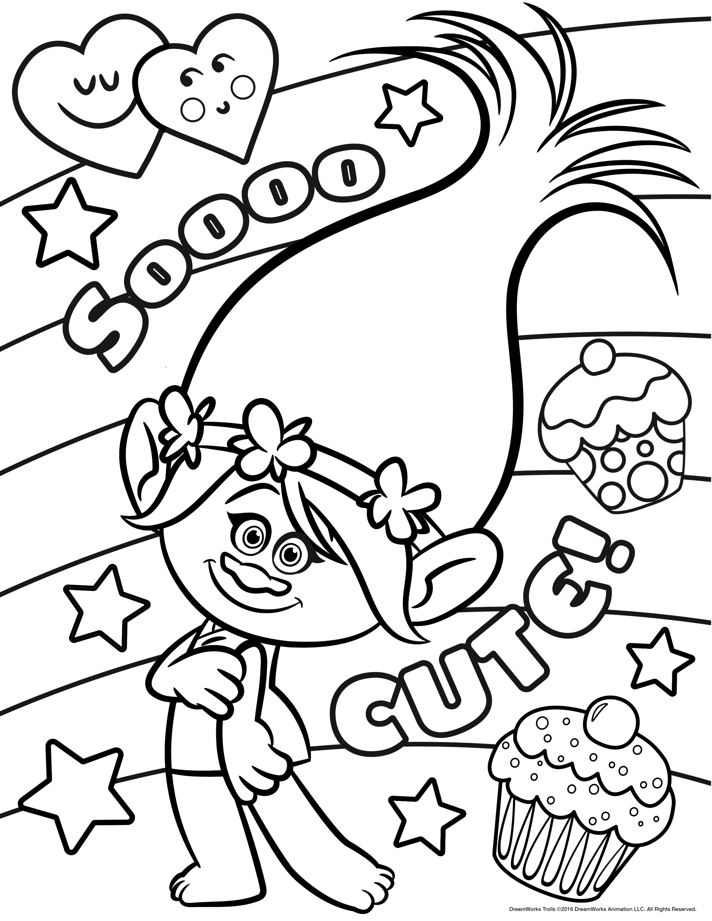 lol trolls coloring pages pdf download