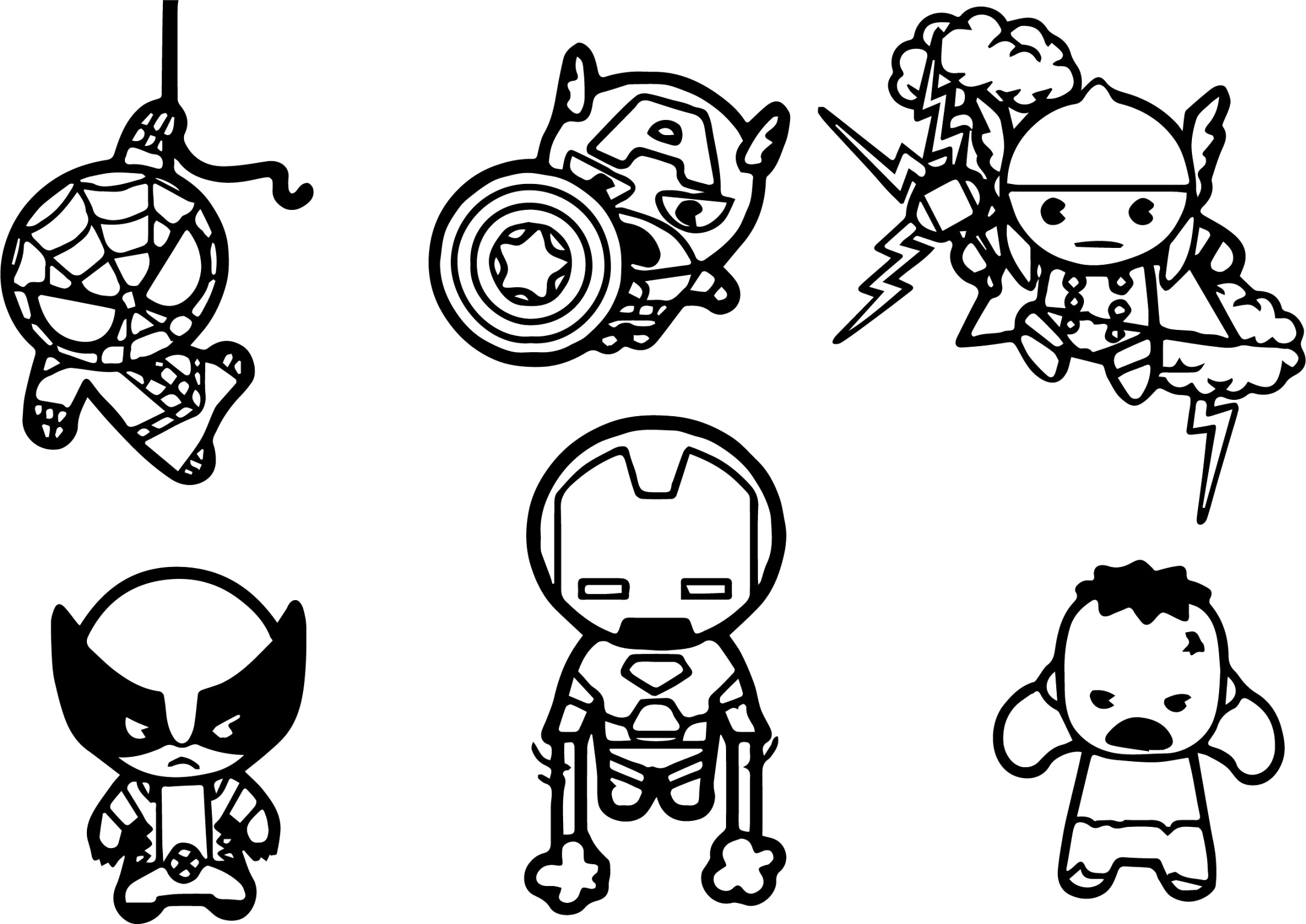benefits of marvel coloring pages to color up