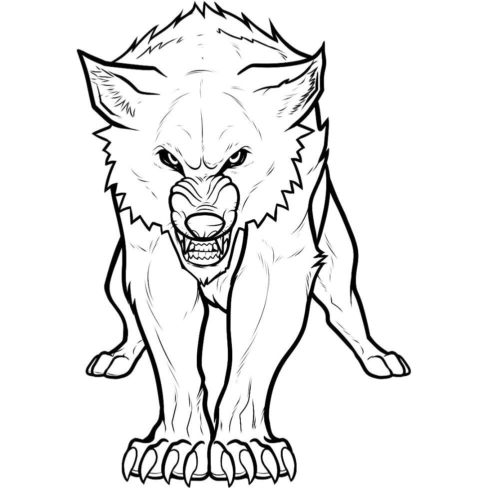easily wolf coloring pages gallery