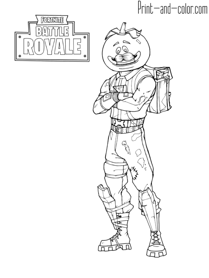 collection of fortnite coloring pages printable pdf