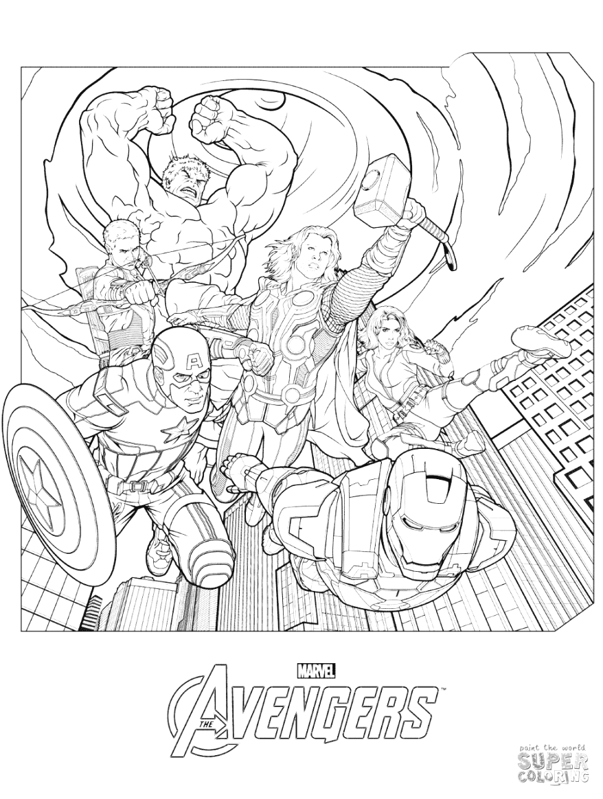 printable easy marvel coloring pages coloring tips