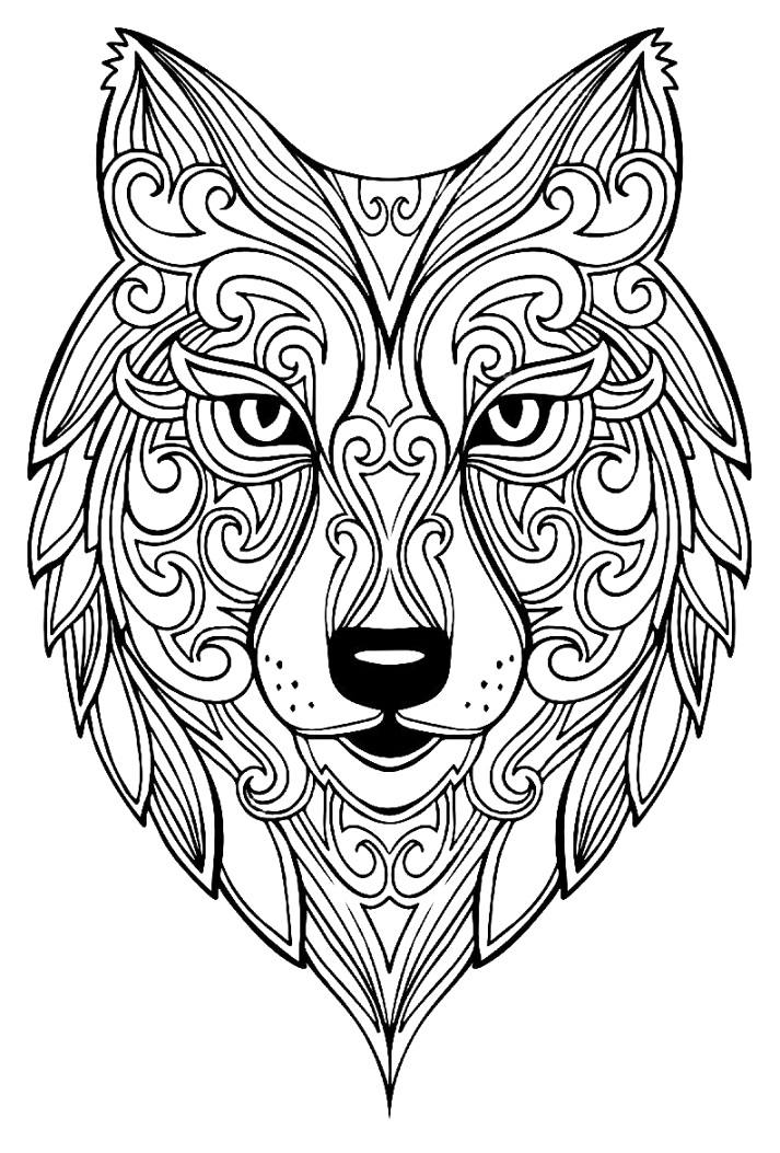 beautiful animal coloring pages Inspirations