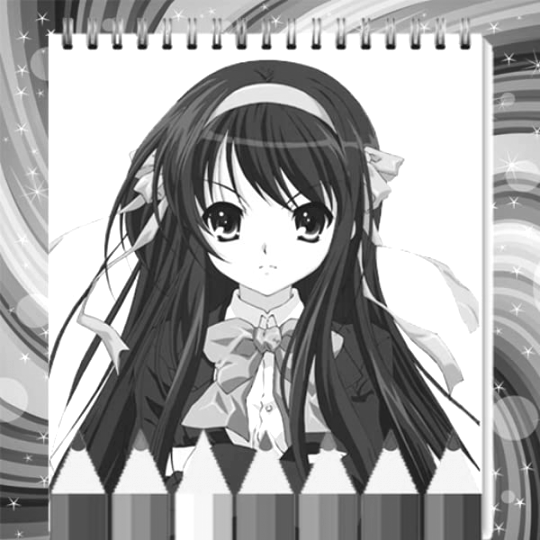 get free anime coloring pages to download