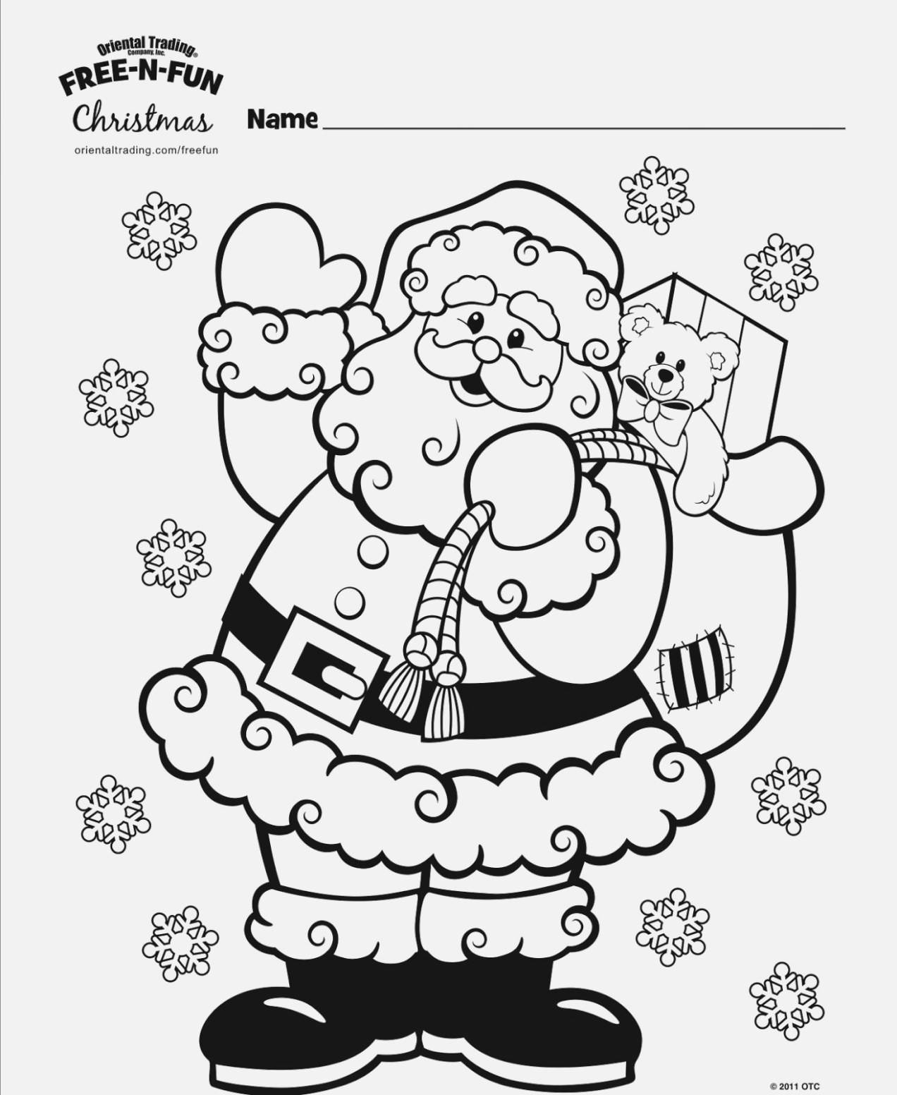online christmas coloring pages easy to print