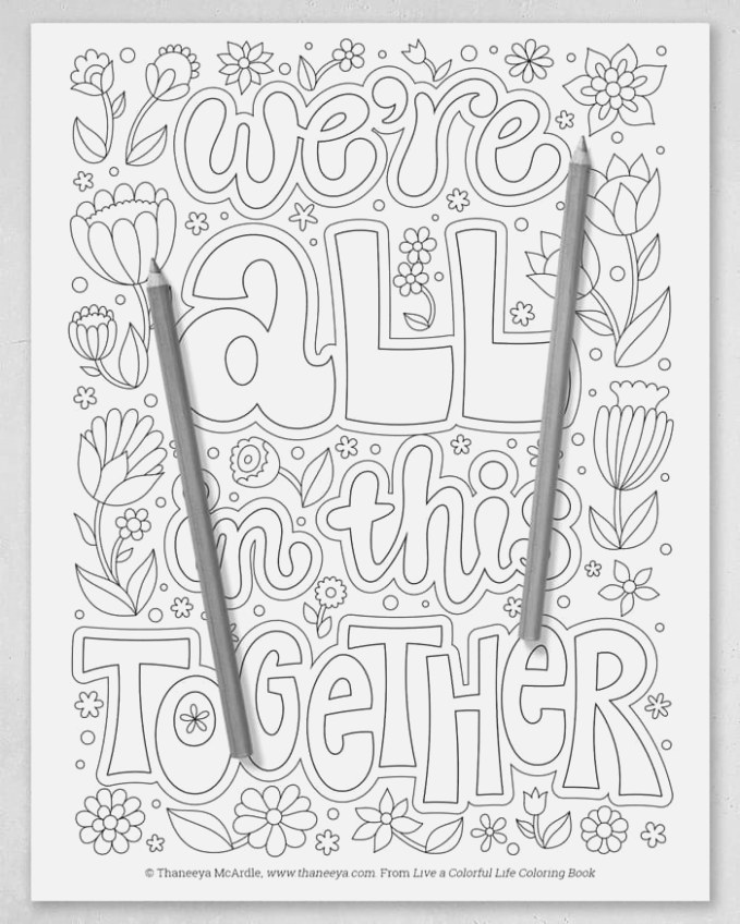 easily coloring pages for kids colour and print