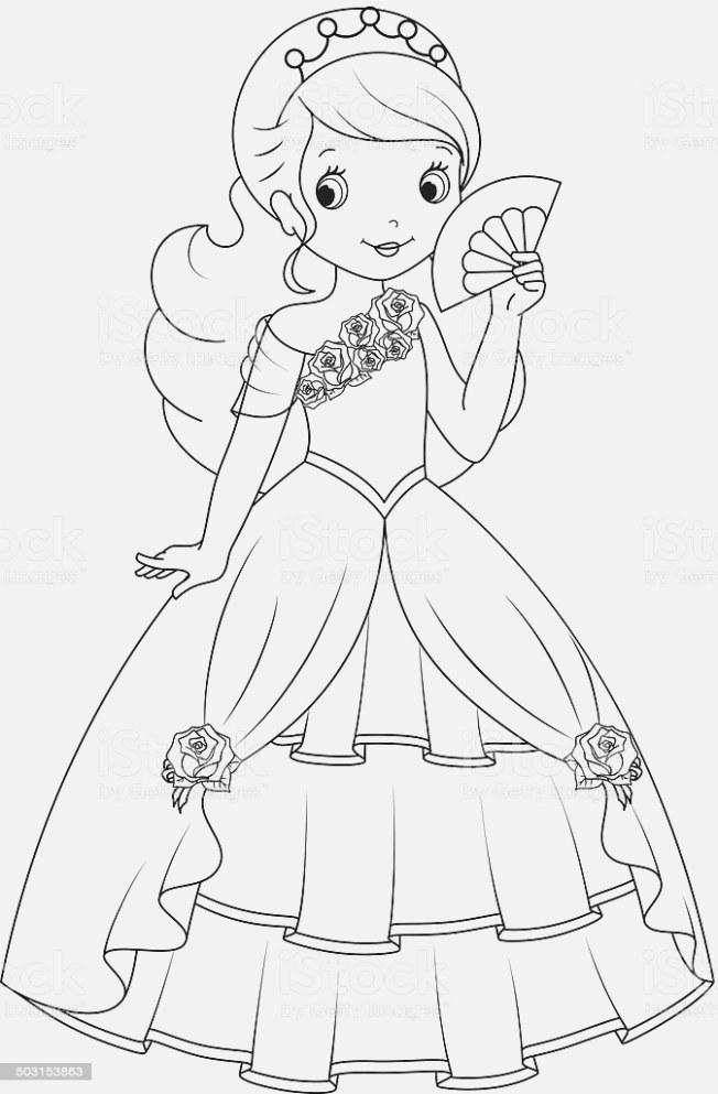 benefits of princess coloring pages Printable Coloring Page