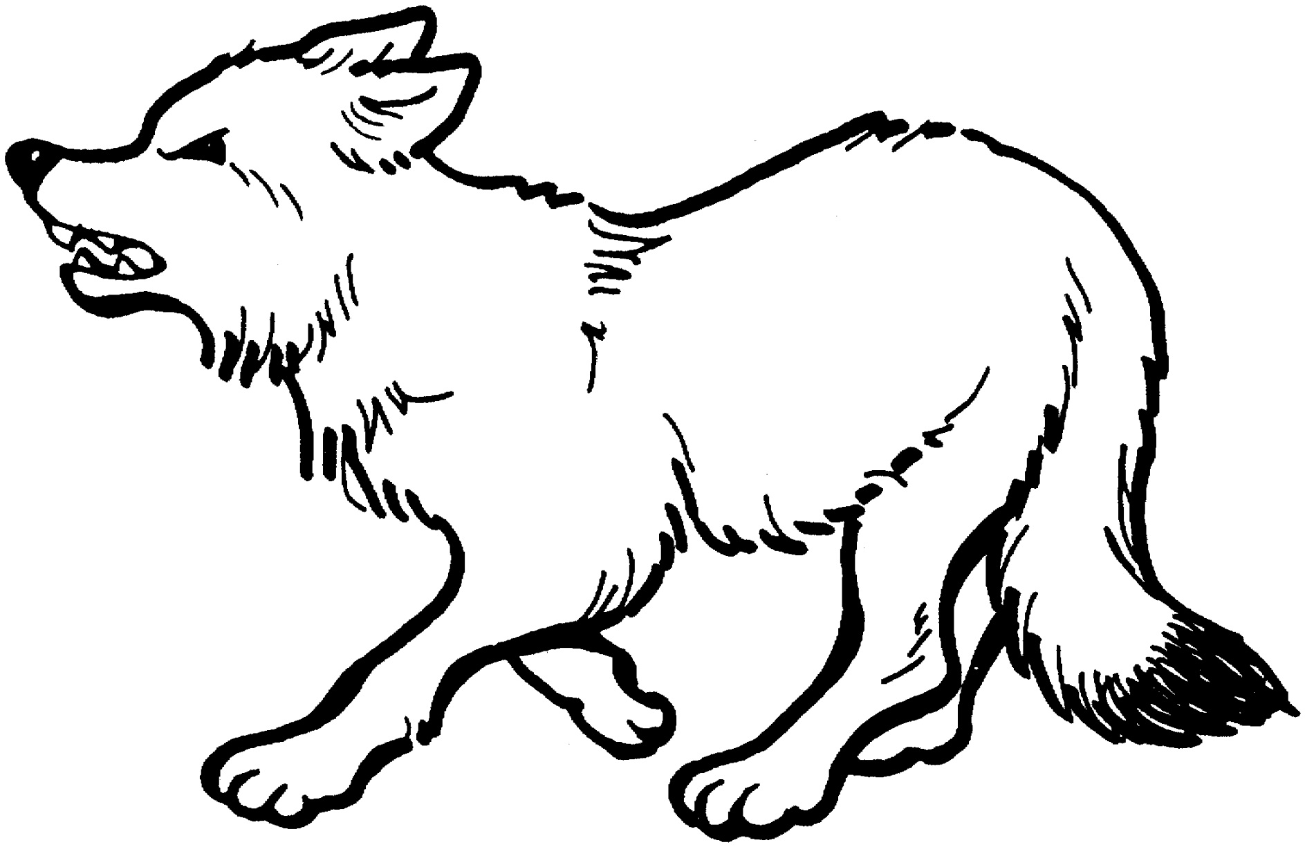 creative wolf coloring pages collection
