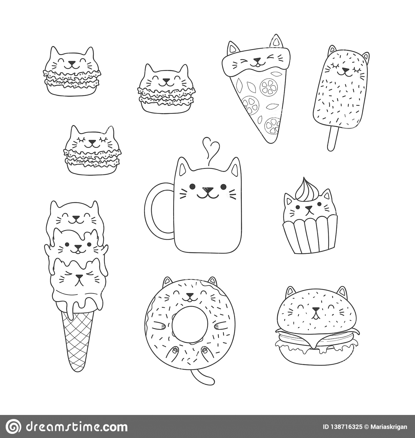 online food coloring pages to download and print