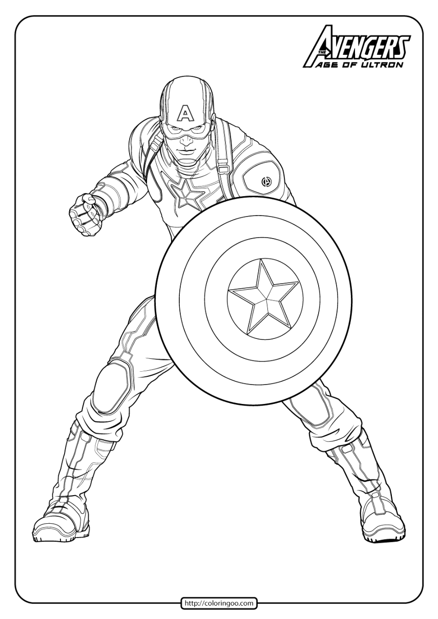 cute marvel coloring pages to download