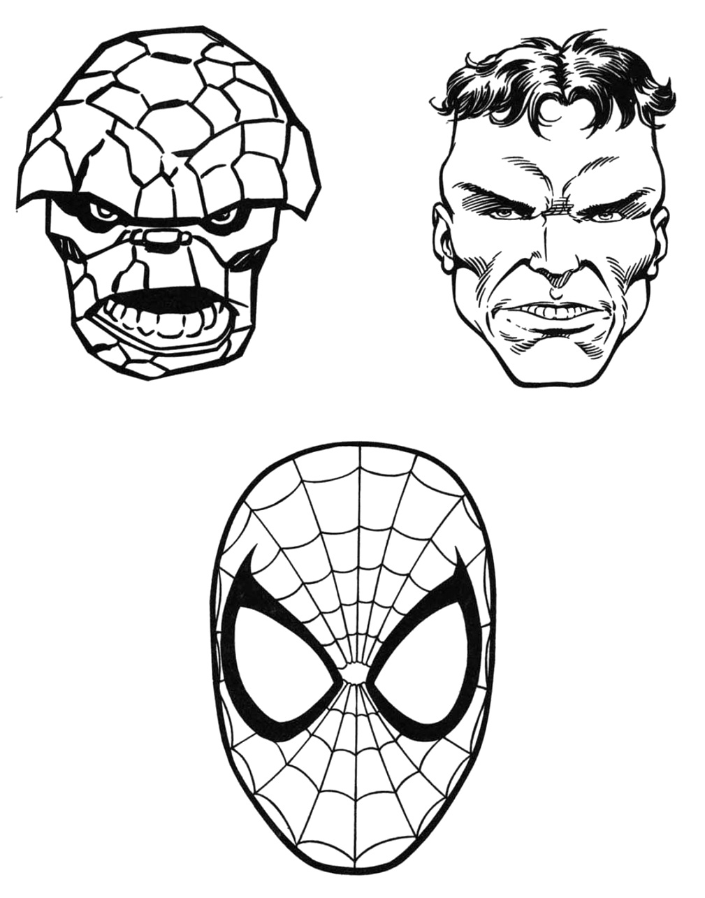 top marvel coloring pages for kids of all ages