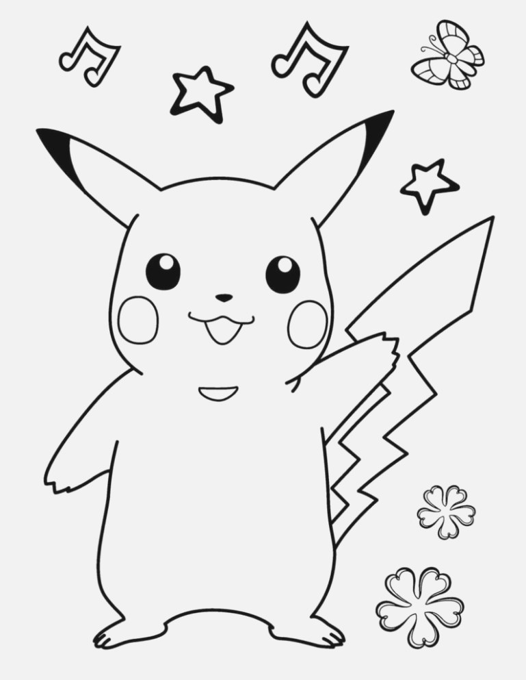 the incredible pokemon coloring pages to color free