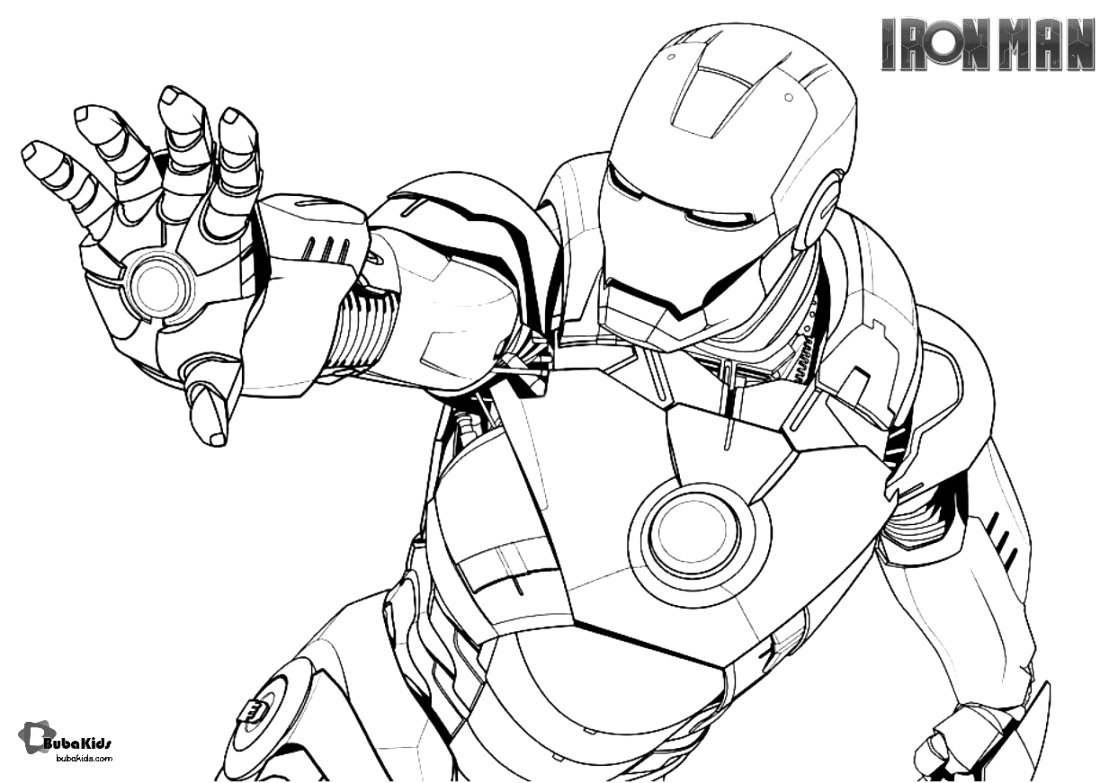 creative iron man coloring pages to print and color