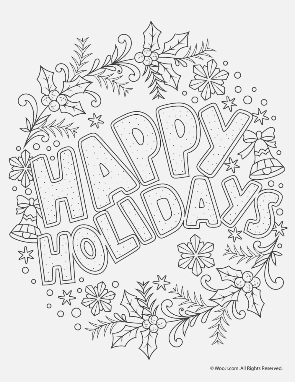 new christmas coloring pages coloring book