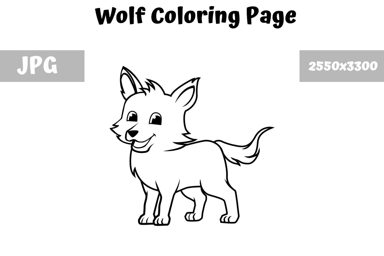 benefits of wolf coloring pages Printable Coloring Page