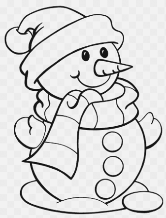 easy coloring pages for kids for toddler