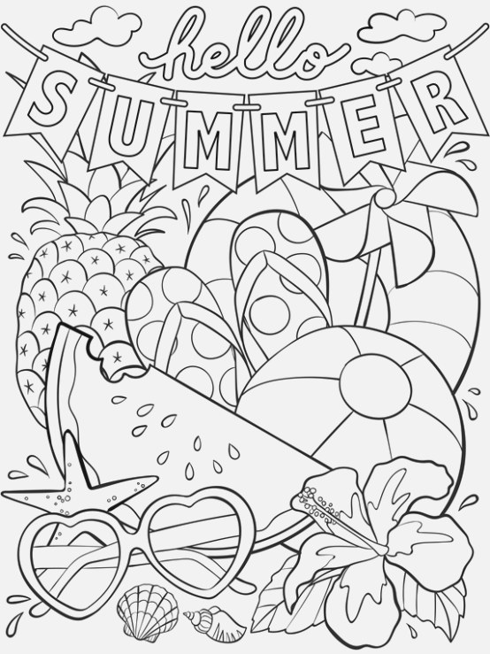 collection of coloring pages for kids for adults and kids