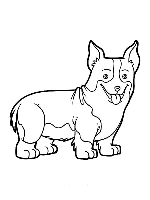 lol dolls dog coloring pages