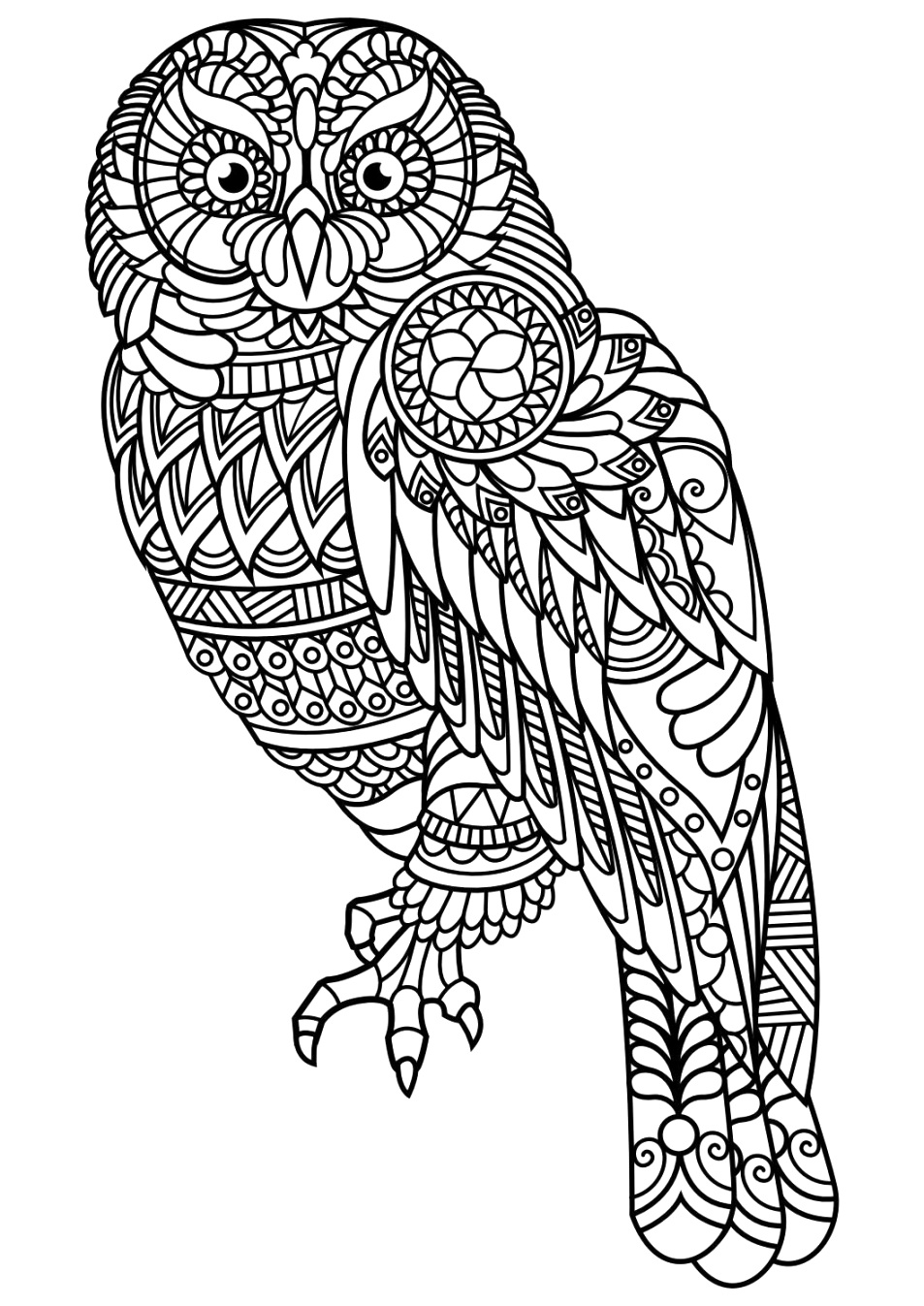 top animal coloring pages print for free