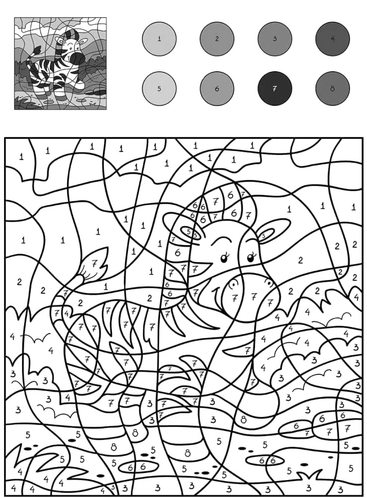 lol color by number printable Coloring Pages Archives