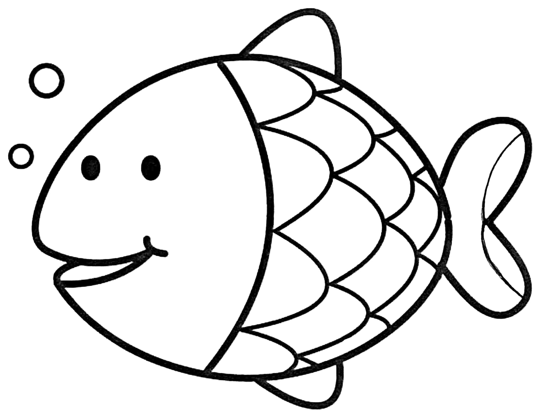 printable fish coloring pages Download and Print for Free