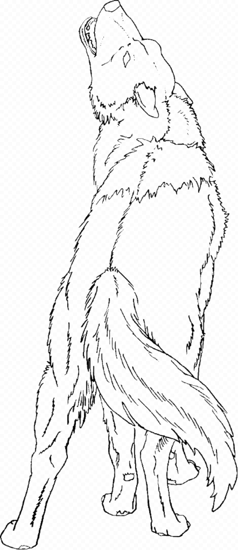 easily wolf coloring pages ideas