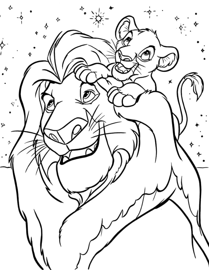 cute disney coloring pages ideas