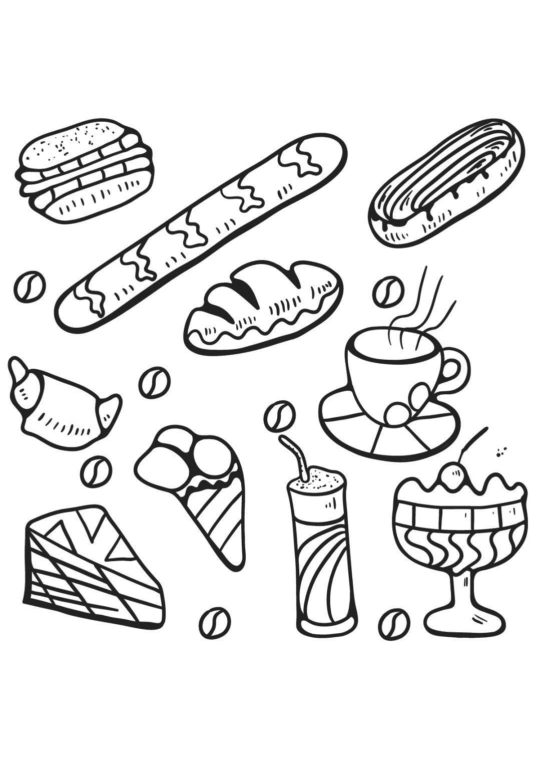 easily food coloring pages coloring tips