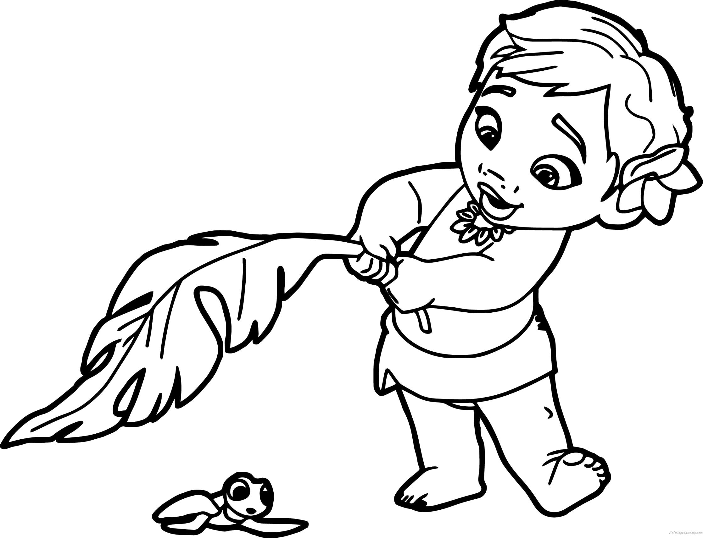 Discover Free moana coloring pages for kids of all ages