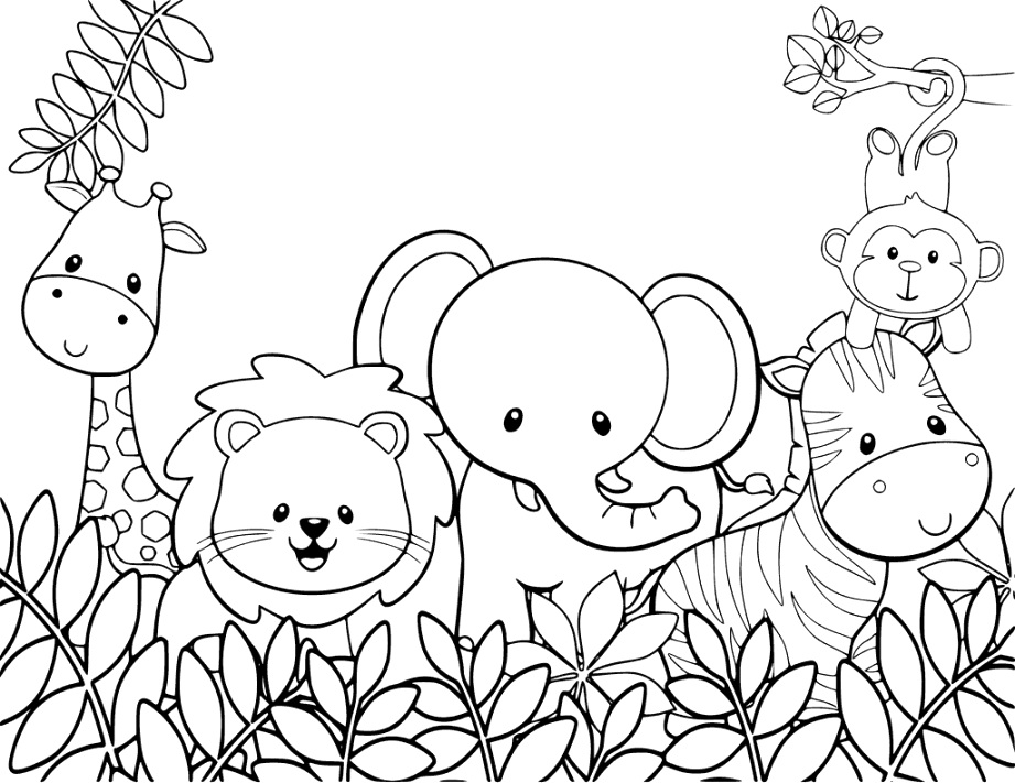 cute animal coloring pages coloring tips